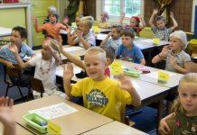 Schoolklas onderbouw