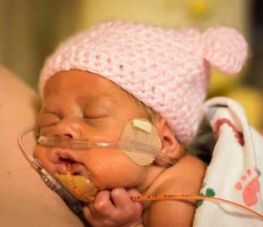 Geurdoekje voor premature baby