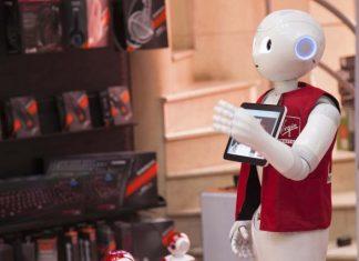 Robot leert kleuter vaardigheden 21e eeuw