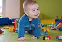 Evenwichtsscreening slechthorende baby's