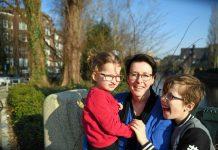 Leontien en kinderen
