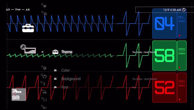 hartbewaking via monitor